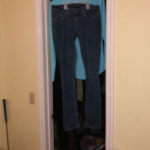 LEVI JEANS lowrider bootcut stretch like new